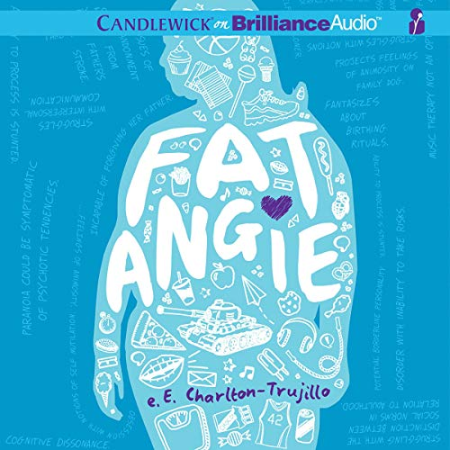 Fat Angie audiobook cover art