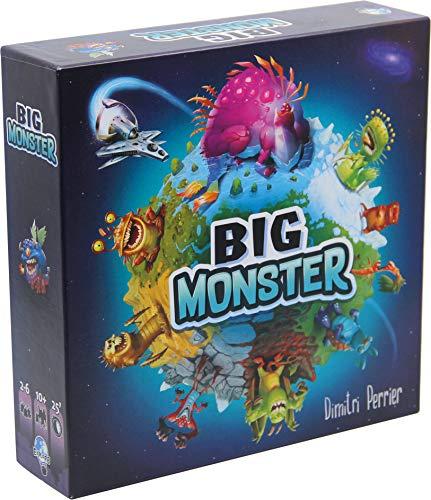 Asmodee EXPBM01FR/EN Big Monster, Familienspiel