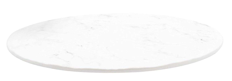 Round Display Tray Melamine White Lowest price challenge dia At the price 13