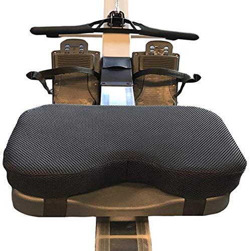 Fitnessrudern Rudersitzkissen Komfortables Sitzkissen Für Concept2 WaterRower Indoor Rowing Rudergerät Sitzpolster Ist rutschfest Schweissfest Langlebig Faltbar Orthopädisch