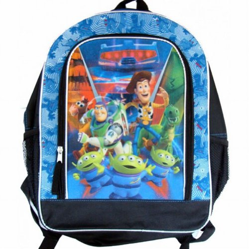 Sparkling Toy Story Backpack Buzz y Woody Kids Travel Back Pack