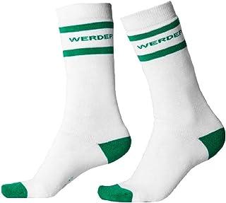 Werder Bremenチューブソックス、ホワイト/グリーン、36〜38(EU)