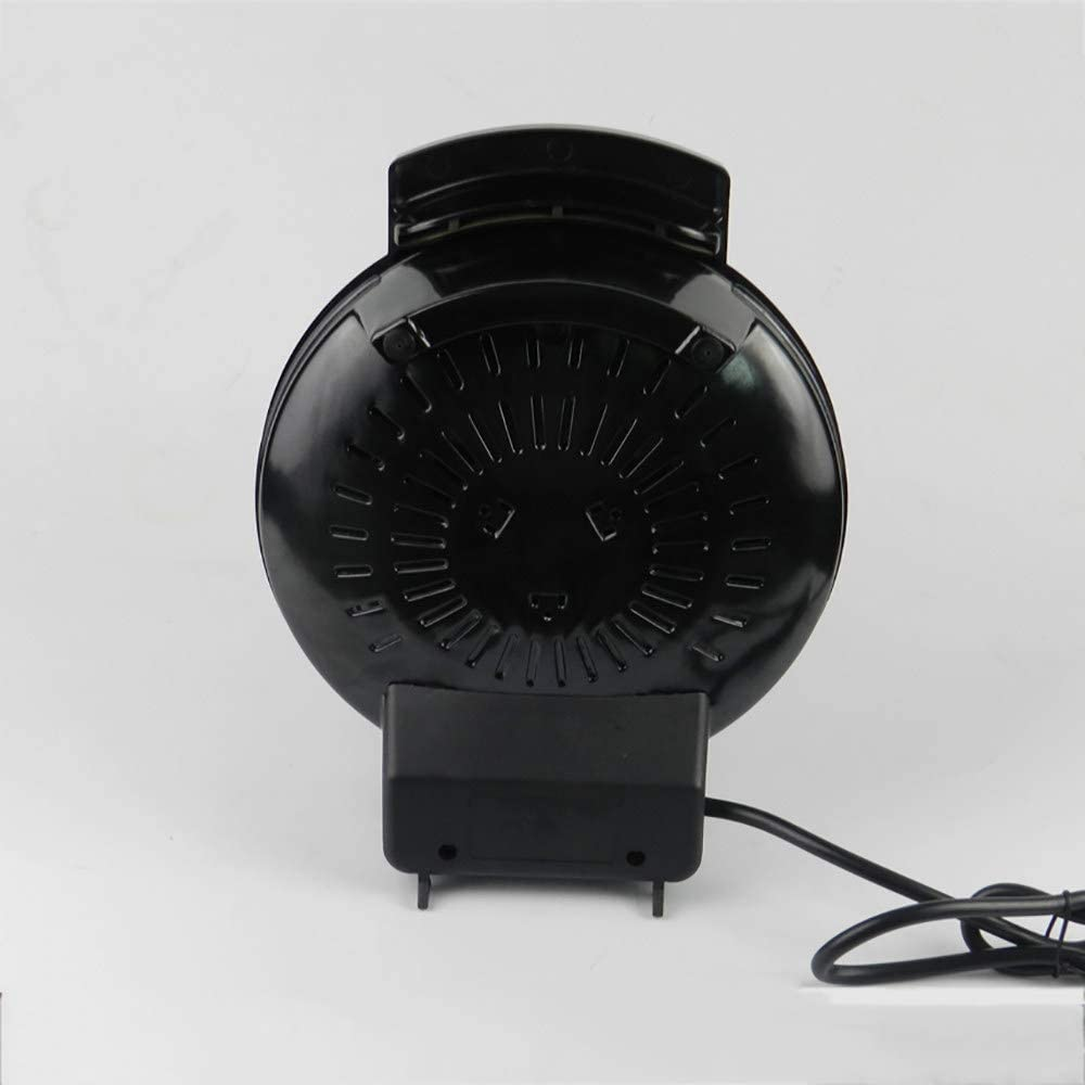 Gaufrier, Mini Collection Machine à Gaufres, Grande Puissance De 900W, RevêTement AntiadhéSif, Facile à Nettoyer, Machine à DéJeuner,Black Black