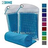 Best Cooling Scarves - Balhvit 2 Pack Instant Relief Cooling Towel Review