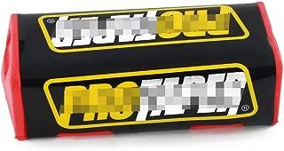 Fast Pro - Manillar para Motocicleta con Almohadilla para Manillar de 1 1/8 Pulgadas, para Yamaha Honda Kawasaki CBR CR YZF R1 180 x 75 mm, Color Negro