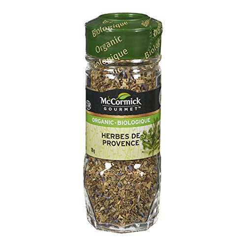 McCormick Gourmet, Premium Quality Natural Herbs & Spices, Organic Herbes De Provence, 18g