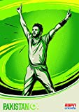 Cricket World Cup – Pakistan – Wall Poster Print - 43cm