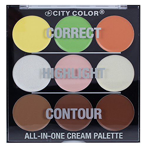 CITY COLOR All-In-One Face Cream Pa…