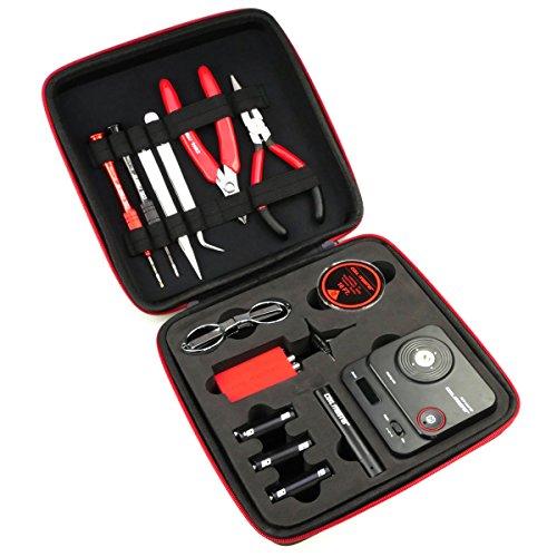 Riccardo DIY Kit V3 komplettes Werkzeug und Zubehör (zum Selbstwickeln für e-Zigarette, mit 521 Tab Mini V2, 0.0 mg Nikotin)