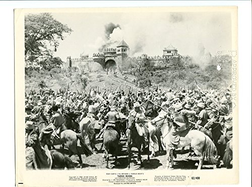 MOVIE PHOTO: TONY CURTIS-1962-8X10 PROMO-TARA BULBA-ACTION VG