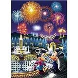(23.6x35.4inch) Diamante pintura dibujos animados Mickey Minnie Mouse 5D DIY redondo/cuadrado diamante punto de cruz bordado mosaico decoración del hogar regalo hecho a mano