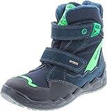 Primigi Boys Warm Waterproof Fashion Winter Boots,Navy/Black,34