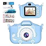 Cámara para Niños,Yosemy Infantil Cámara de Fotos Pantalla HD de 2 Pulgadas 1080P Tarjeta de 32GB TF,Regalos de Juguete para Niños de 3 a 12 años de Niños y Niñas Cumpleaños