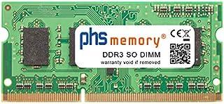 PHS-memory 4GB RAM módulo para Toshiba Portege Z830-10D DDR3 SO DIMM 1333MHz