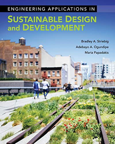 Engineering Applications in Sustainable Design and Development