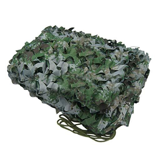 Filet D'ombrag Woodland Camouflage Net Oxford Cloth Chasse Tir Armée Cachée Camping Caché Partie Décoration, Camouflage Numérique Net 2m, 3m, 4m, 5m, 6m, 7m, 8m, 9m ( Size : 5*10M(16.4*32.8ft) )