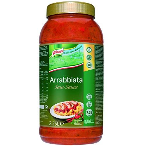 Knorr Collezione Italiana Sauce Arrabiata (scharfe Tomatensauce mit Kräuter) 1er Pack (1 x 2,36 kg)
