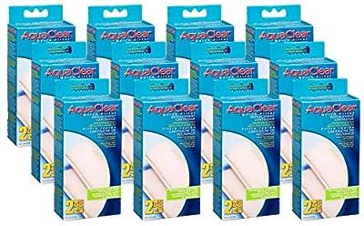 Hagen 24 -Pack AquaClear Quick Aquarium Water Filter Refill Cartridge for Power Head Attachment