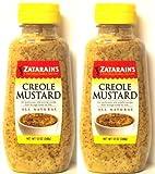Zatarain s Creole Mustard 12 Oz (Pack of 2) by Zatarain s