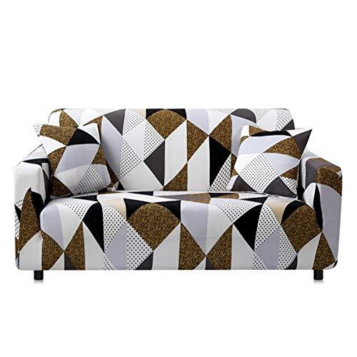 WXQY Sala de Estar Funda de sofá Funda de sofá Elástico Deslizante Seccional Elástico en Forma de L Funda de sillón Conjunto de sofá Funda de sofá A3 3 plazas