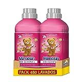 Mimosin Creaciones Suavizante Concentrado Flor de Tiaré y Frutos Rojos 60 lavados - Pack de 8