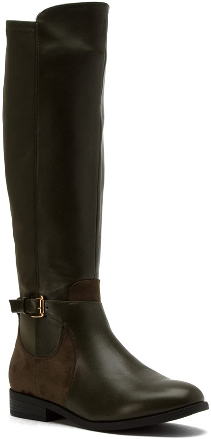 Wanted Women's Cavalier Olive Boots 6 M