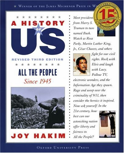 All the People: Since 1945 A History of US Book 10