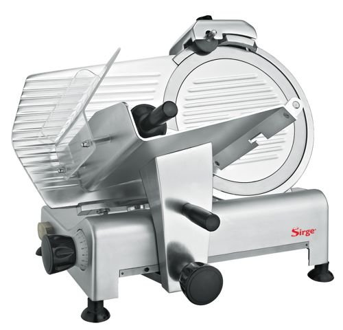 Sirge AFFPROF30 Affettatrice Professionale Semi Automatica a gravità [420 Watt - Lunghezza...