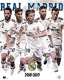 Erik Editores Mini-Poster Real Madrid 2018/2019 Gruppe