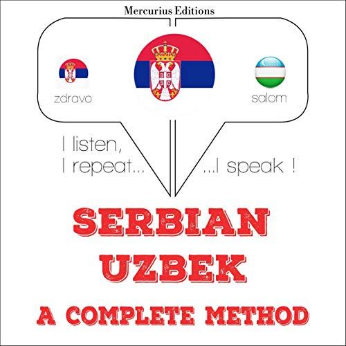 Serbian - Uzbek. A complete method  By  cover art