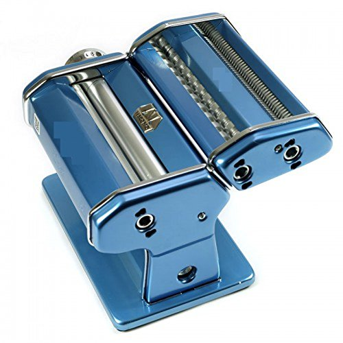 SL&MTJ Manual Pressing Machine Home Noodle Machine,Stainless Steel Adjustable Rollers Manual Hand Crank Pasta Cutter extruder Pasta Maker-D