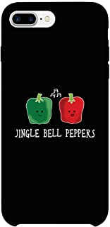 365 Printing Jingle Bell Peppers Cool Black Phone Case (iPhone 7 Plus)
