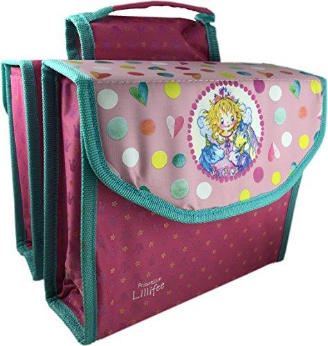 Bikefashion Prinzessin Lillifee Fahrradtasche Packtasche Doppeltasche Doppelpacktasche 825088