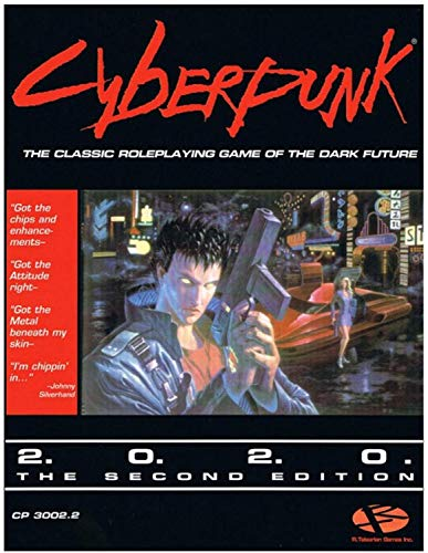 R. Talsorian Games Cyberpunk 2.0.2.0 - RPG Core Rulebook 2nd Edition (2020) - English, RTGCP3002