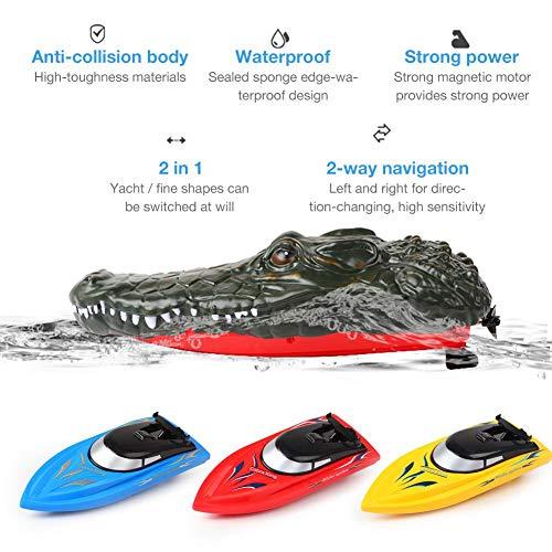 mildily RC Boot , 2,4 GHz Fernbedienung Boot Fernbedienung Yacht Spielzeug , Simulation Schwimmspielzeug