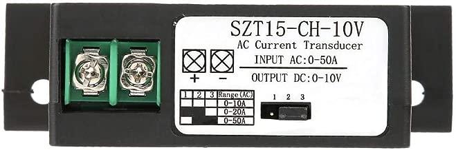 Transductor de corriente CA, transmisor de corriente CA, inductor mutuo de corriente CA 0-50 A a CC 0-10 V (modelo SZT15-CH-10V)
