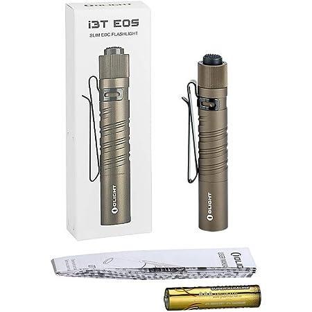 180 l/úmenes, alcance de 60 m OLIGHT I3T EOS Linterna de bolsillo color marr/ón