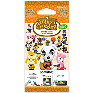 Carte Amiibo Animal Crossing - Serie 2