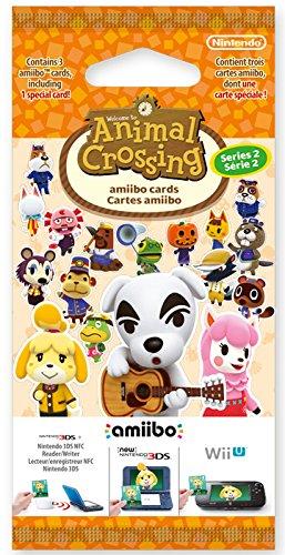 Nintendo - Pack 3 Tarjetas Amiibo Animal Crossing HHD - Serie 2