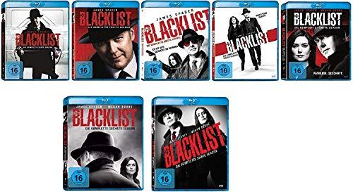 The Blacklist Staffel 1-7 (1+2+3+4+5+6+7) im Set - Deutsche Originalware [41 Blu-rays]