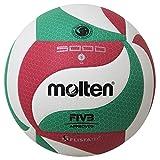 Molten V5M5000 Ballon de volley Blanc/Vert/Rouge 5