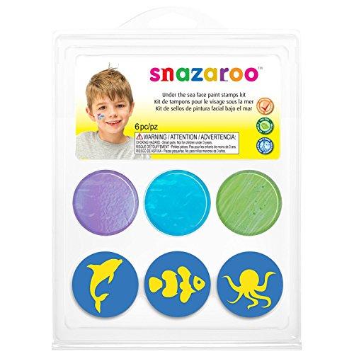 Snazaroo - 766416750587 - Maquillage - Mini Kit - Tampon Sous L'océan
