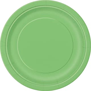 Lime Green Paper Cake Plates, 50ct