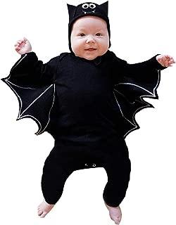 iLOOSKR Halloween Costume Newborn Baby Boy Girl Cosplay Costume Romper Jumpsuit Hat Outfits Set