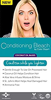 Best conditioning bleach by color oops coconut oil Reviews