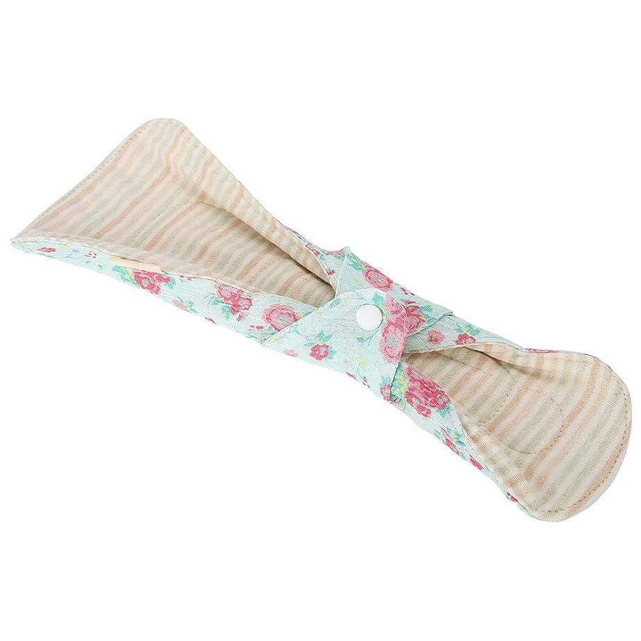 傾く半ばはさみ月経パッド、ダブルウィングアンチサイドリーケージシフトしにくい再利用可能な洗える布ソフトで快適な生理用ナプキンパンティーライナー