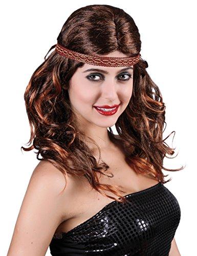 Generique - Perruque rousse Indienne Femme