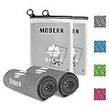 Botack Golf Handtuch Mikrofaser Handtücher Kühltuch Sporthandtuch Cooling Towel für Laufen...