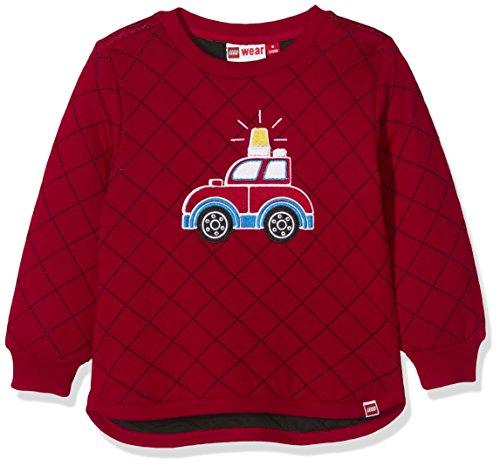 Lego Wear Duplo SOFUS 702 - Sweatshirt Sweat-Shirt Bébé garçon Rouge (Red) 9-12 Mois (Taille Fabricant: 74) Lot de