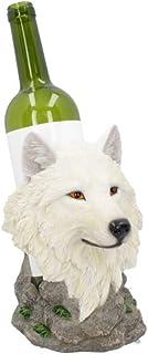 Nemesis Now Snow Guide Wine Bottle Holder 23cm White